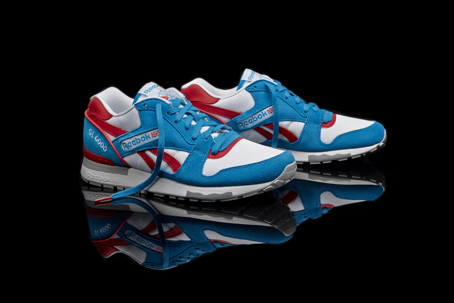 on sale e48c7 108e9 Reebok Classic introduces another new look for the GL 6000 runner with an  always-fresh red, white and blue color combo.