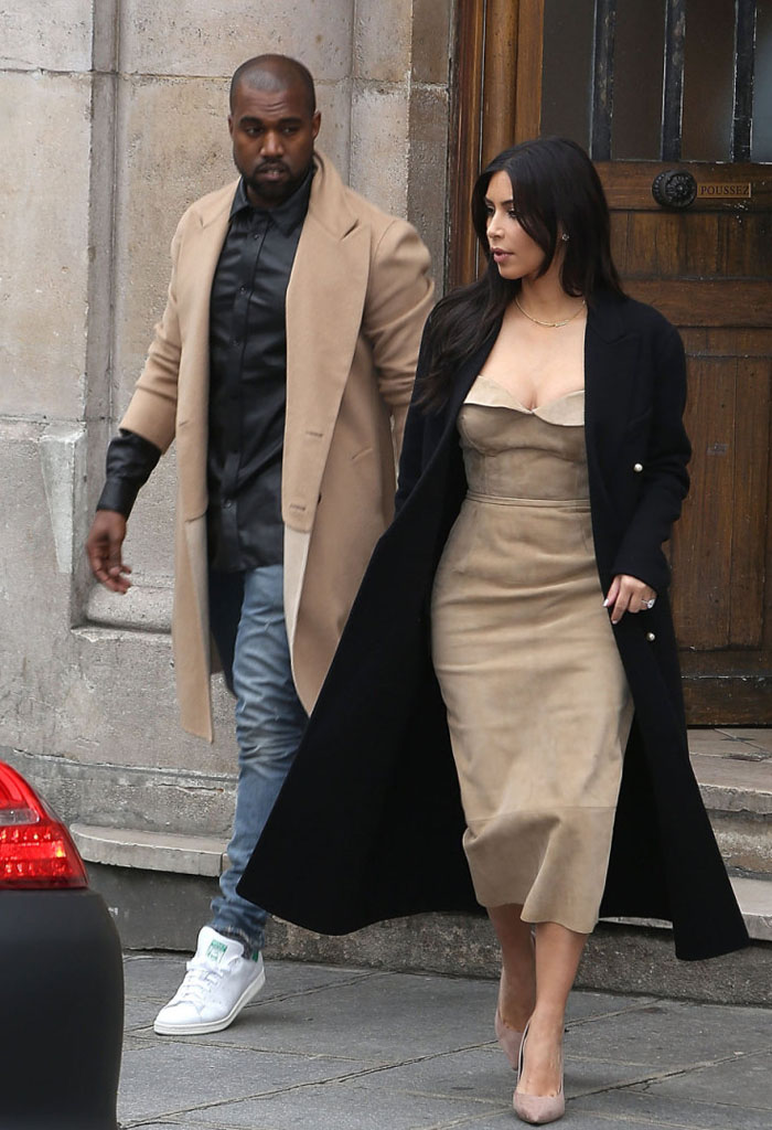 Kanye West wearing adidas Stan Smith (2)