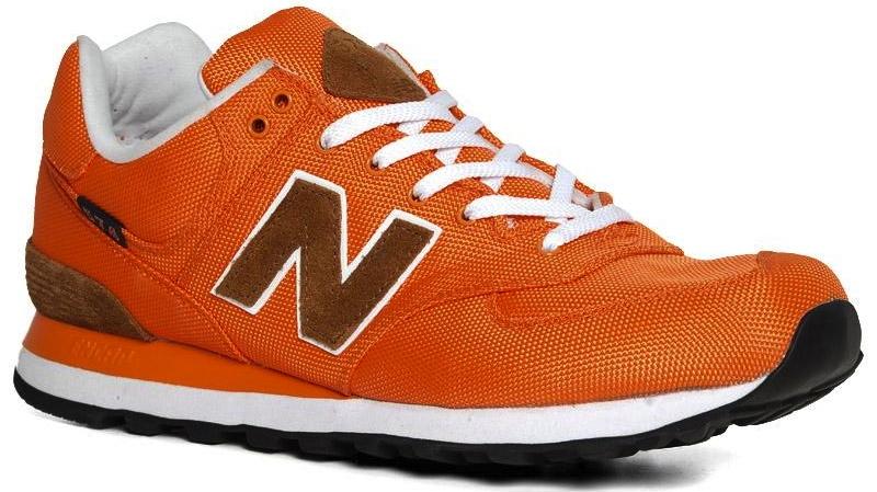 new balance m574 orange