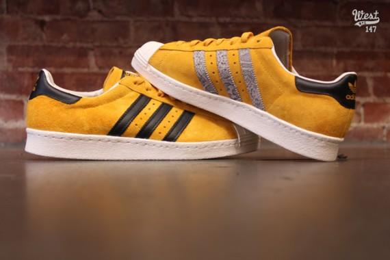 adidas superstar yellow suede