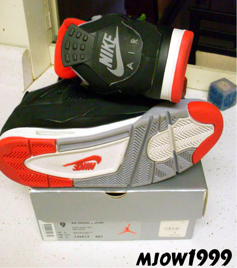 Spotlight // Pickups of the Week 1.5.13 - Air Jordan IV 4 Black Cement by mjow1999