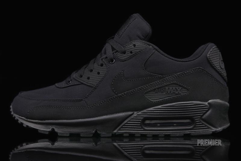 nike air max 90 in black