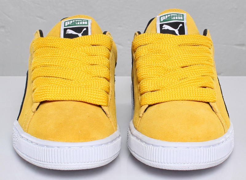 new product 27ca3 f8d93 PUMA Suede Classic - Yellow/Black/White/Team Gold | Sole ...