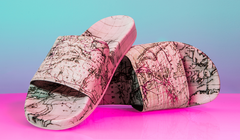 Eddie Huang Adidas Slides