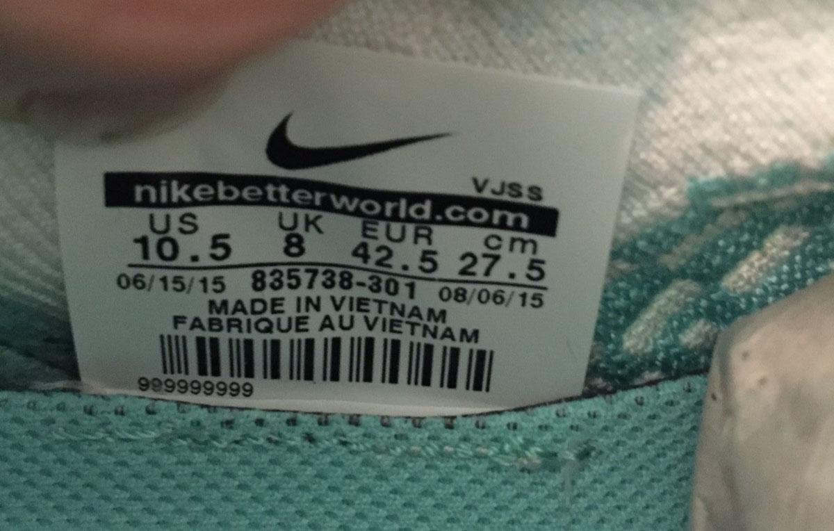 best service 986d5 4f0b6 Nike Flyknit Presto Flyknit Ultra Hyper Turquoise 835738-301 (8)