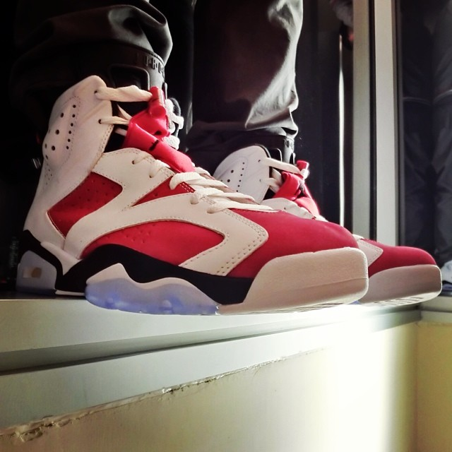 hot sale online 80153 392ac Find Out When You Can Get the 'Carmine' Air Jordan 6 On-Foot ...