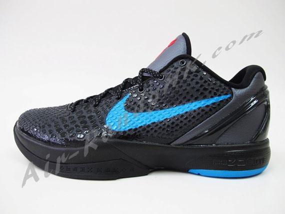 Nike Zoom Kobe VI - Dark Grey/Blue