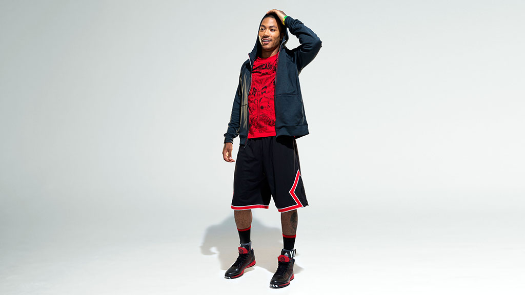 derrick rose adidas apparel