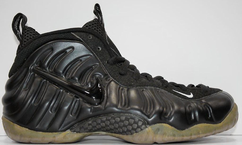 customize your own hyperdunks nike air foamposite all black