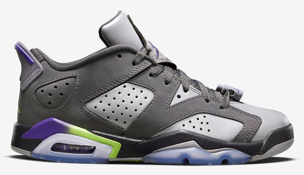 Air Jordan 6 Low Girls Ultraviolet Release Date 768878-008