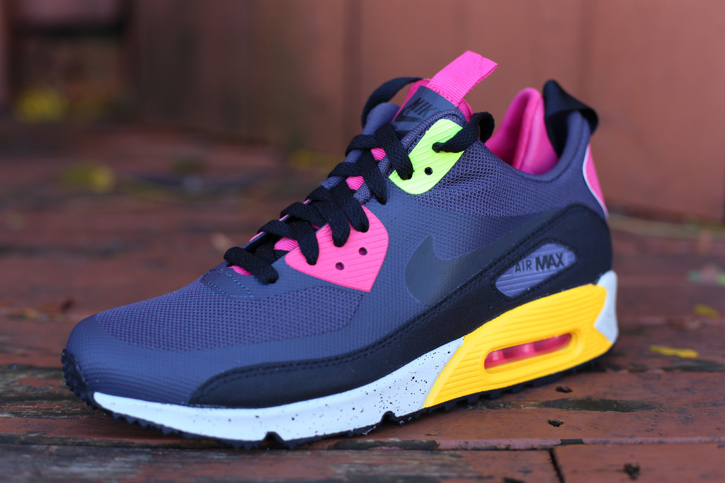 competitive price 3a08b 7c0fd Nike Air Max 90 Sneakerboot - Pink Foil ...