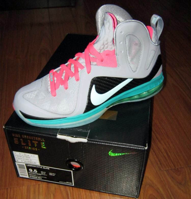 Nike LeBron 9 P.S. Elite South Beach 516958-001 (1)