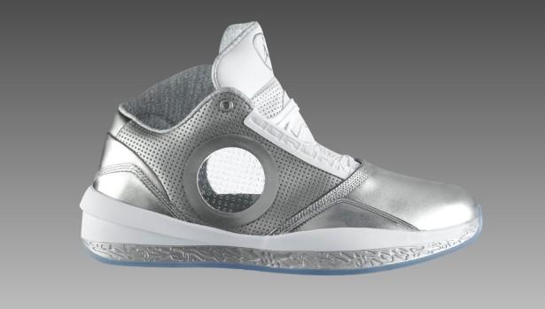 2056d295f7ce33 Air Jordan 2010 Metallic Silver White Universal Grey 387358-006