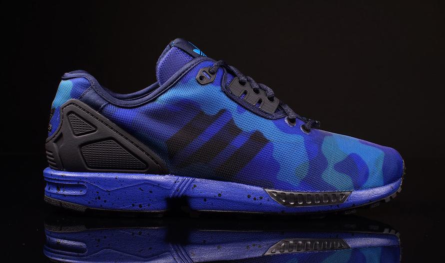 Adidas Flux Triple Blue