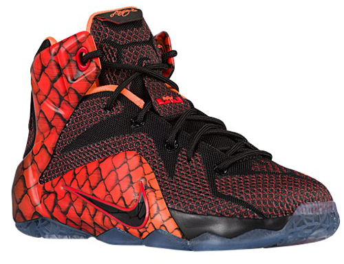 Nike LeBron 12 Fish Scale