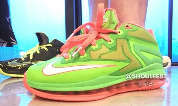 meet eeecc 42ff4 ... with an on-foot look at Volt Bright Orange LeBron XI Low GS. No release  details just yet, but be sure to stick with Sole Collector for official  details.