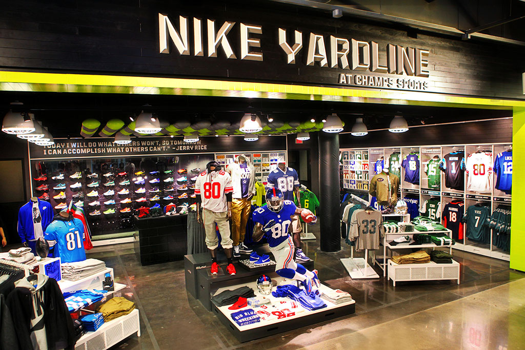 Nike x Champs Yardline NFL Football
