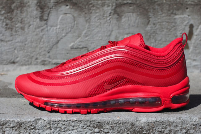 best sneakers 1468e b7b7d Air Max 97 Hyperfuse in Gym Red | Sole Collector
