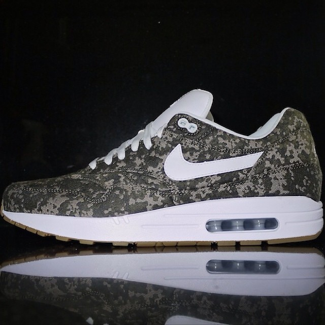 DJ Clark Kent Picks Up NIKEiD Air Max 1 Camo