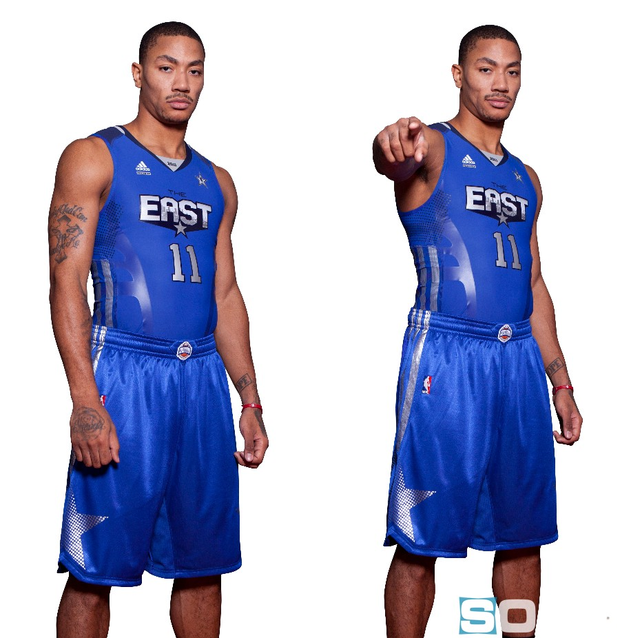 the best attitude b3e18 c93c9 adidas Rolls Out The Red Carpet For 2011 NBA All-Star ...