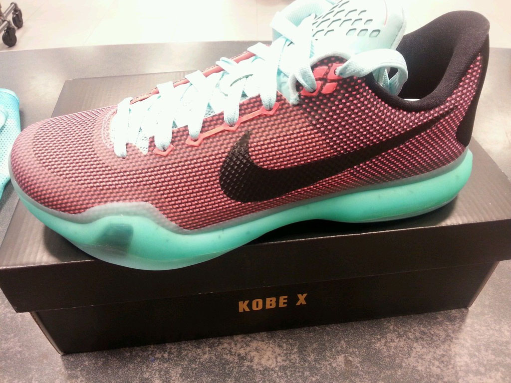 Shop Discount Nike Kobe 10 Easter Hot Lava Black-Sunset Glow