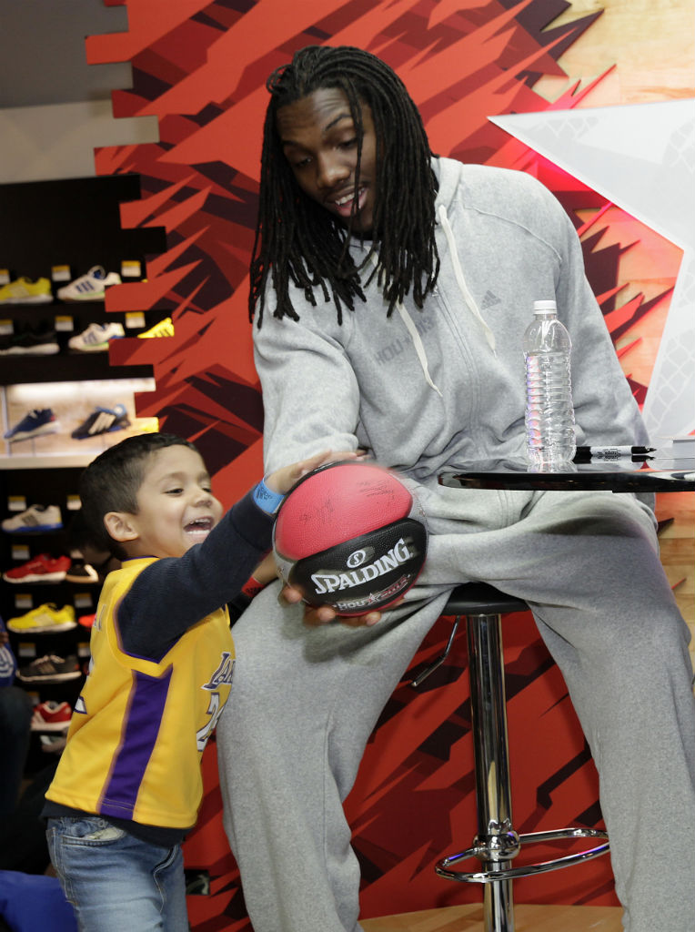 adidas Basketball Athletes Celebrate NBA All-Star // Kenneth Faried (1)