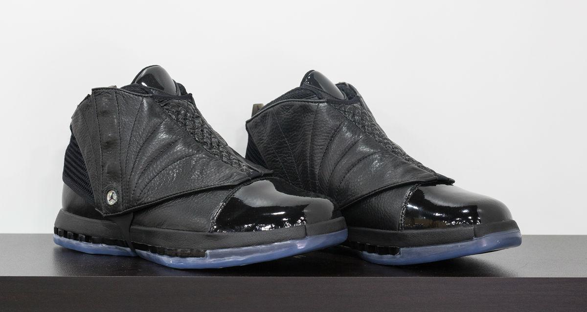 635a164a753e4c Air Jordan 16 Kobe Black Collection