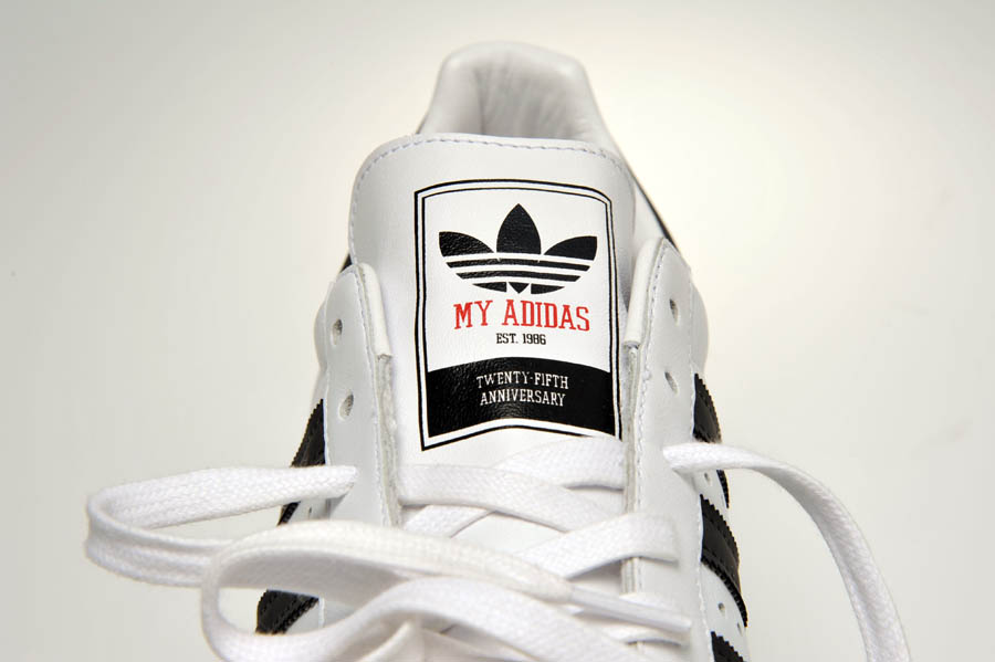 "adidas Originals Superstar 80s - Run DMC ""My adidas"" 25th Anniversary 25"
