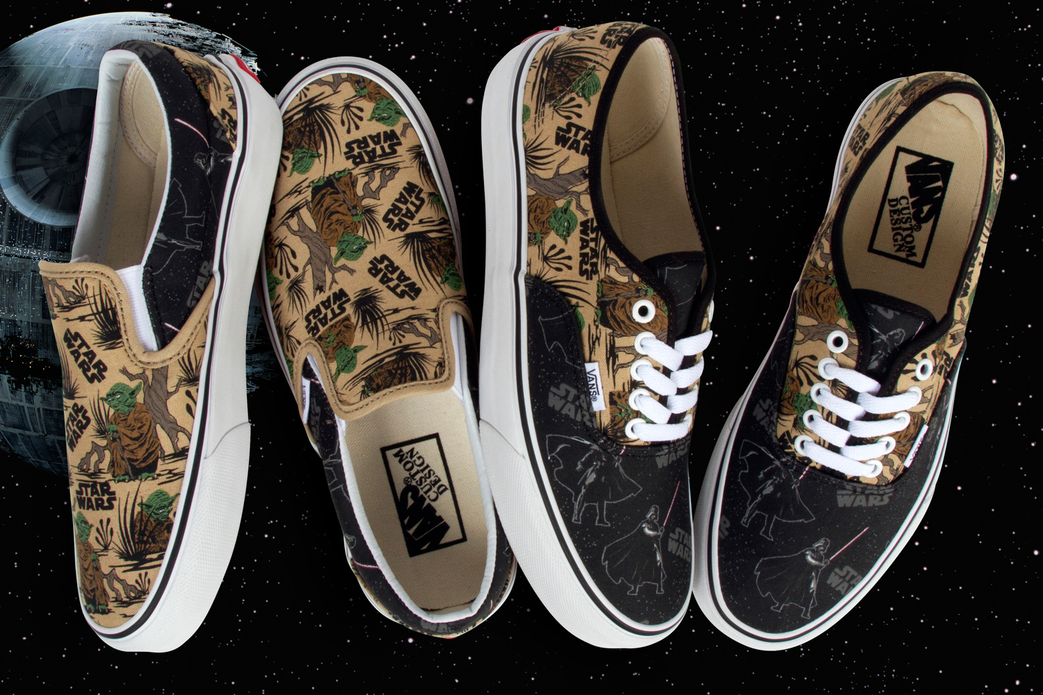 star wars vans shoes for sale