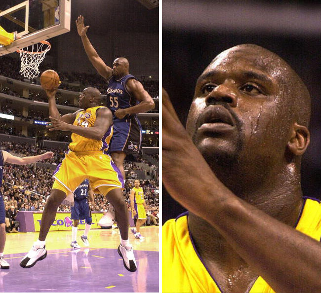 Shaq's 10 Best Games as a Laker // March 23, 2001 vs. Washington Wizards - Dunk.net