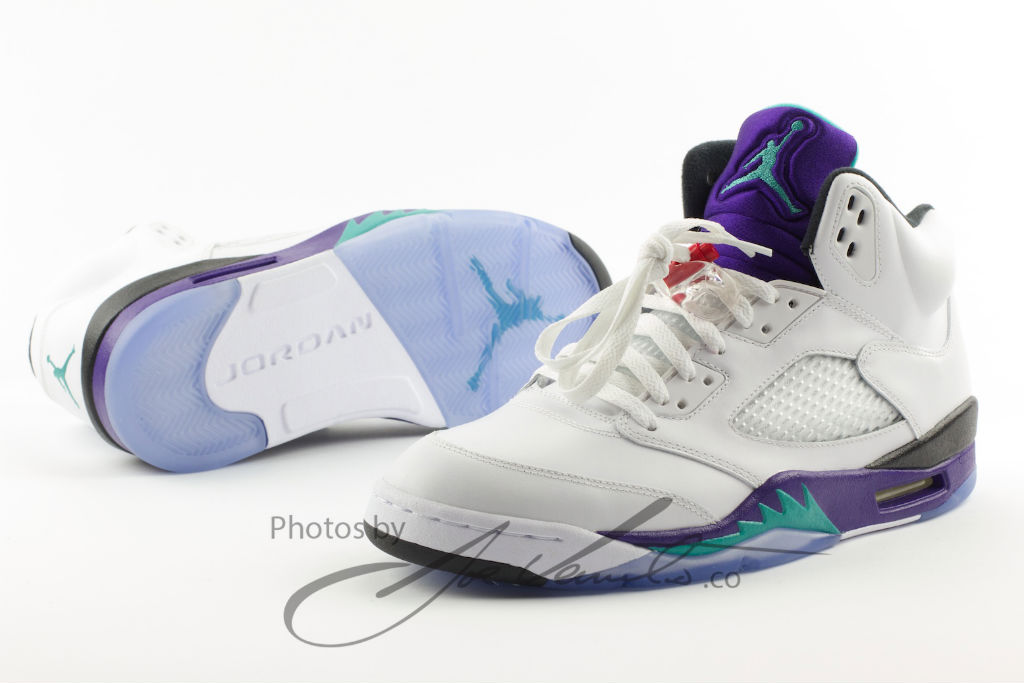 Air Jordan Retro V 5 Grape 136027-108 Release Date (1)
