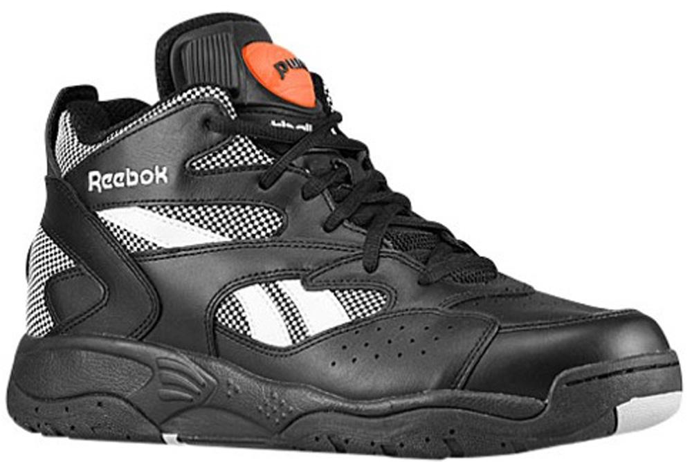 Reebok Pump D-Time Black/Steel-White-Varsity Orange