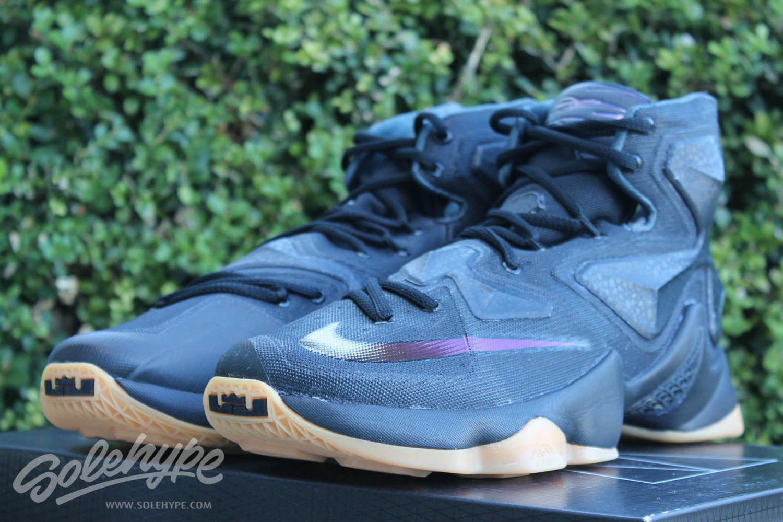 bc9b4afbdb5 Release Date  Nike LeBron 13  Black Lion