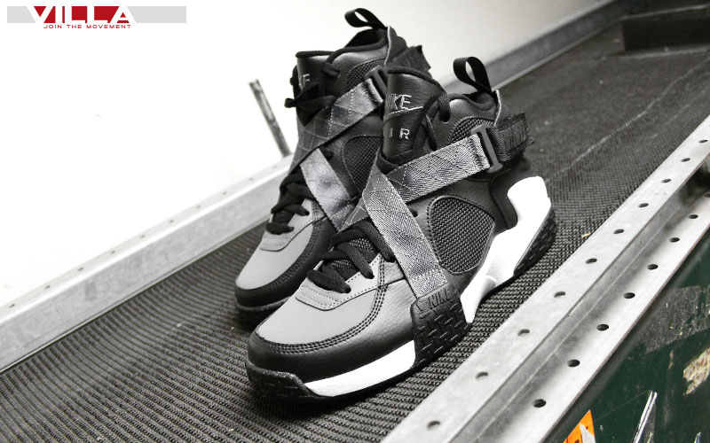 Nike Air Raid Black/Flint Grey-White 642330-002 (2)
