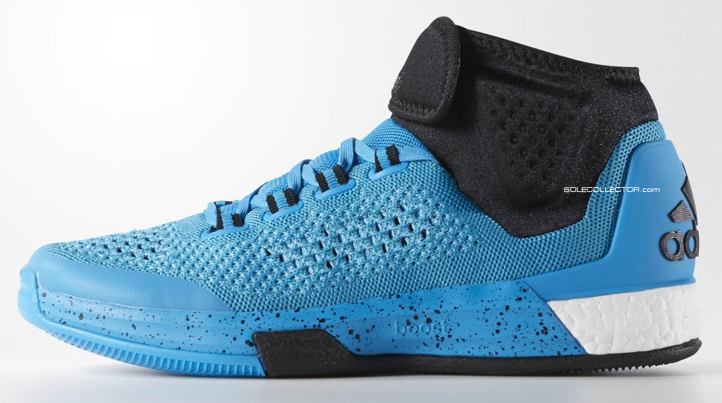 adidas Crazylight Boost 2015 Mid Blue (1)