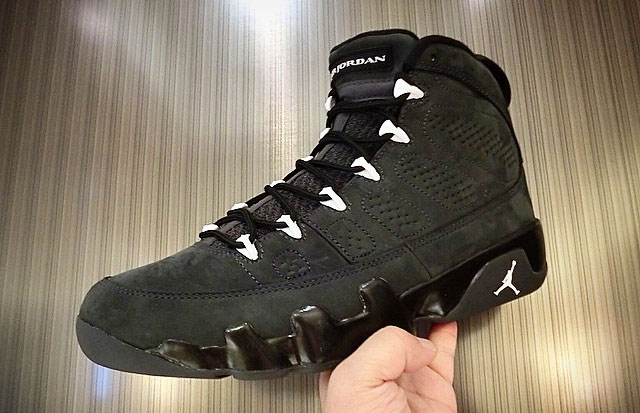 sneakers for cheap 25875 08bd2 Release Date: Air Jordan 9 'Anthracite' | Sole Collector