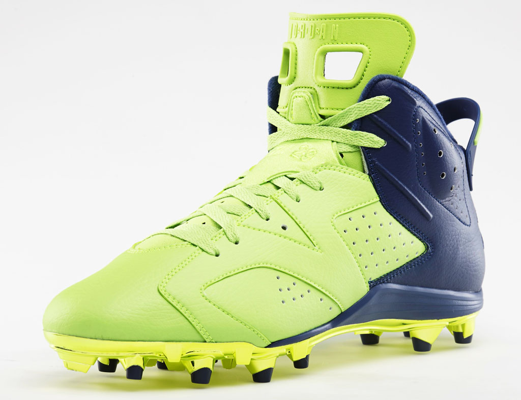 Air Jordan 6 Earl Thomas Super Bowl PE (2)