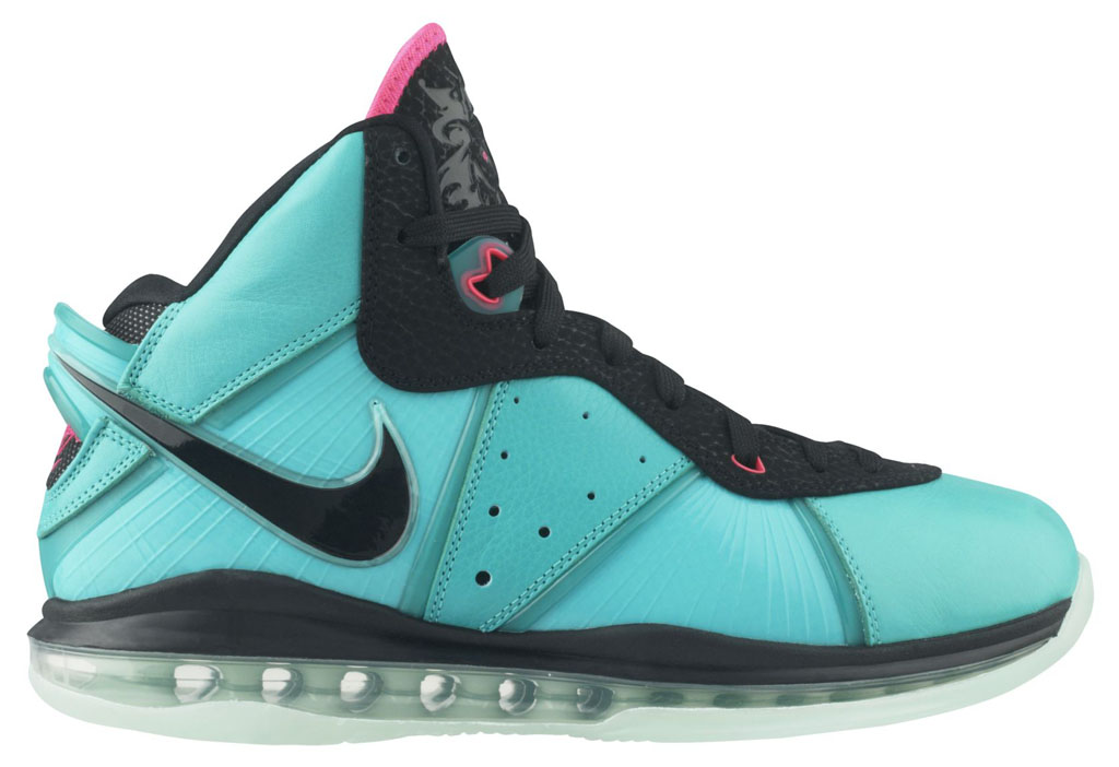 868db33bdfea A History of South Beach Nike LeBron Shoes