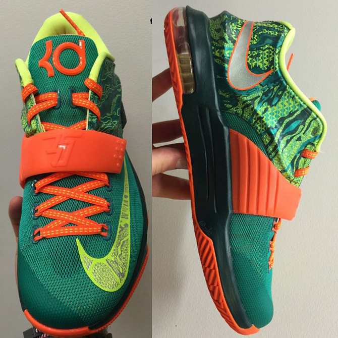 pretty nice 95553 1d94c Doppler Radar Predicts  Weatherman  Nike KD 7 for March   Sole Collector