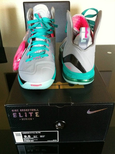 Nike LeBron 9 South Beach Wolf Grey McFly 516958-001 (6)