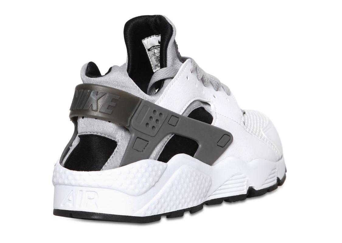 Huarache Nike White Grey
