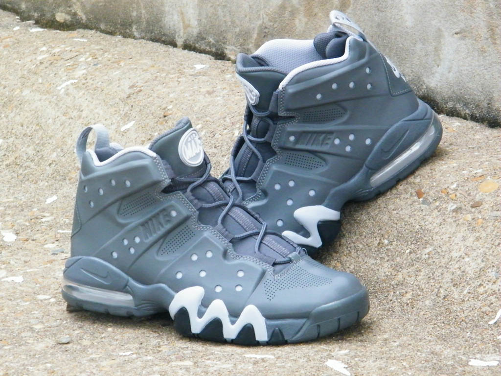 Nike Air Max Barkley Dark Grey White Wolf Grey Dark Grey 488119-090 (1)