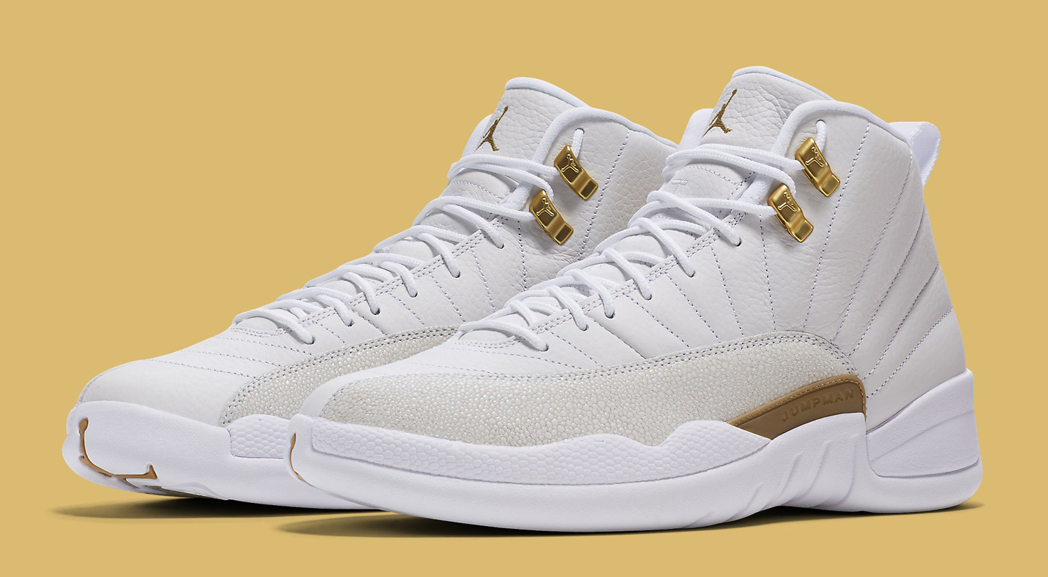 Air Jordan 12 Ovo Release Date on All White 12s