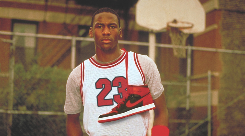 Michael Jordan's first pair of Nikes