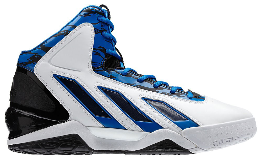 free shipping 86bb6 f16cf Dwight Howards Orlando Magic adidas Sneaker History - adipower Howard 3  Orlando Home (1)