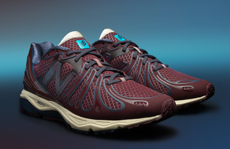 New Balance Blue Tab Collection M890BN3 in burgundy and navy