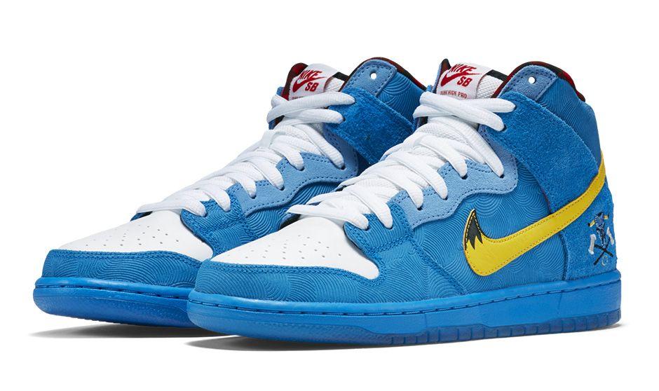 online retailer 8ff56 7466c Familia x Nike Dunk High SB Paul Bunyan Babe Blue Ox 313171-471 (2