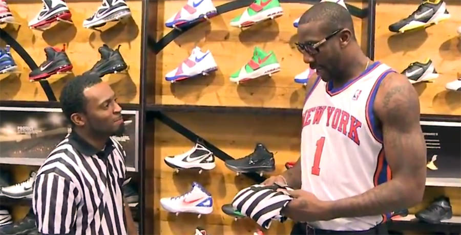 Amar'e Stoudemire's Last Day at Foot Locker