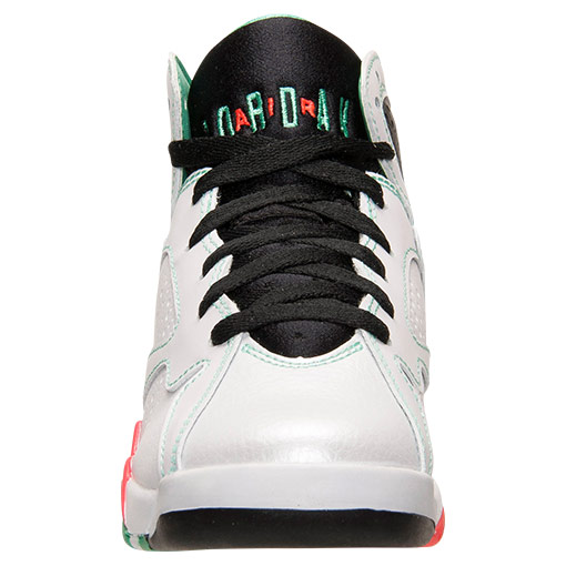 Air Jordan VII 7 GS White/Infrared-Black-Verde 705417-138 (4)