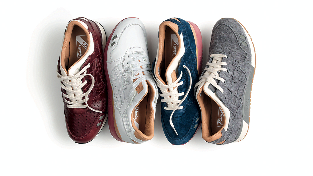 Packer Shoes x J.Crew x Asics Gel Lyte 3 Pack